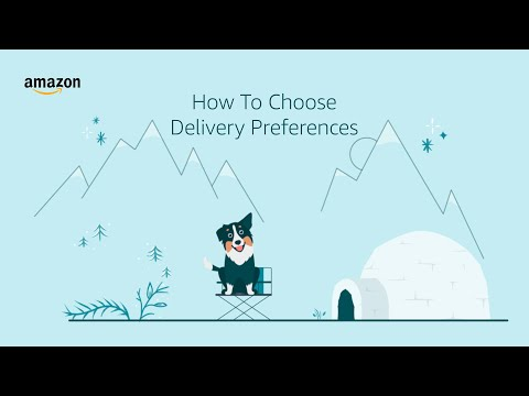 amazon.co.uk & Amazon Discount Codes video: How To Manage Delivery Preferences In the Amazon App