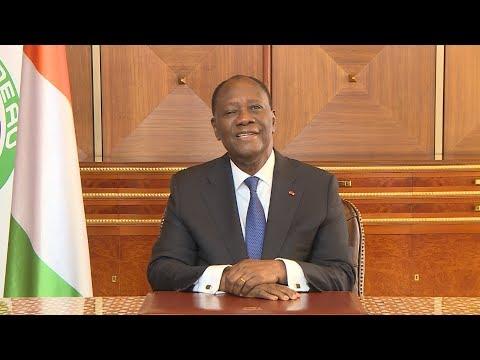 Message à la Nation du Président Alassane OUATTARA, à l'occasion du nouvel an
