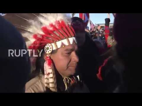 Protesters celebrate after Army denies Dakota Access pipeline permit
