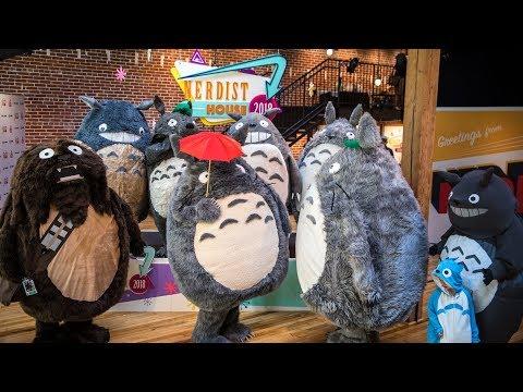 Adam Savage's Totoro Meetup at Comic-Con!