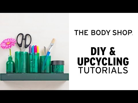 How To: DIY Desk Organiser - The Body Shop