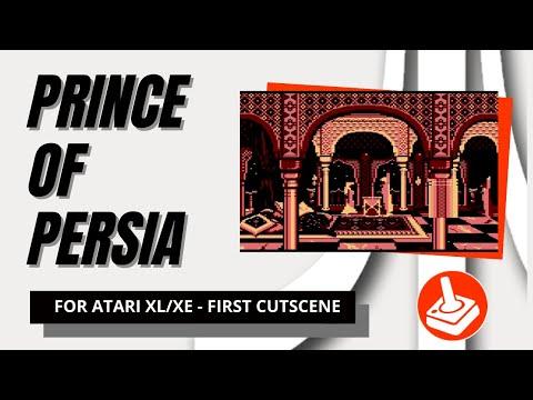 Prince of Persia for Atari 8-bit computers - first cutscene