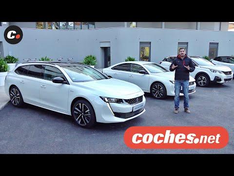 Peugeot 508 Hybrid y 3008 Hybrid 4 | Primera prueba / Test / Review en español | coches.net