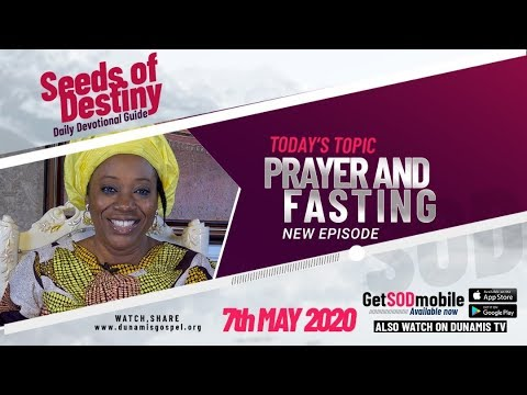 Dr Becky Paul-Enenche - SEEDS OF DESTINY  THURSDAY, 07 MAY, 2020