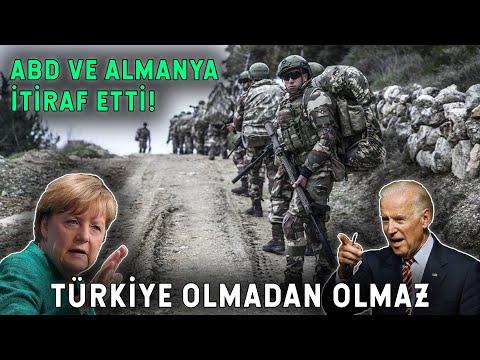 Türkiye'nin Yardımı Olmadan Olmaz! Almanya ve ABD İtiraf Etti!