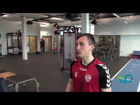 Derry City footballer Aaron McEneff shares a player's perspective on  analysis