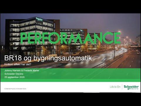 Webinar: Krav til bygningsautomatik i BR18 | Schneider Electric