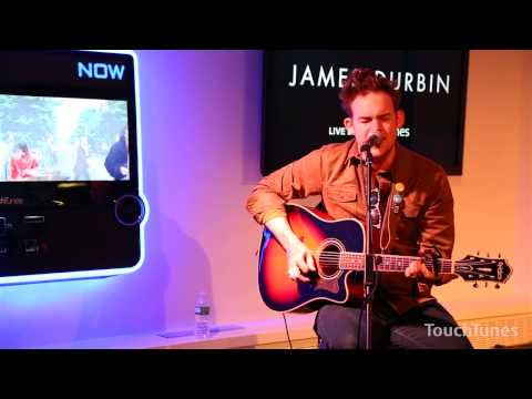"James Durbin - ""Celebrate"" Live at TouchTunes"