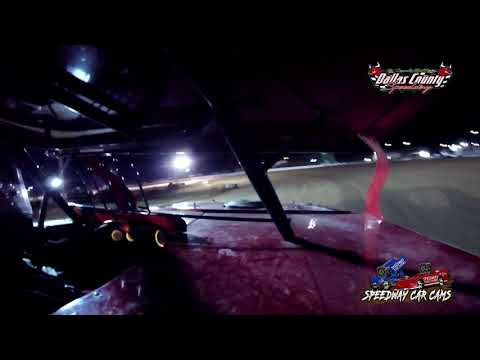 #83 Ben Newell - Midwest Mod - 5-7-2021 Dallas County Speedway - In Car Camera - dirt track racing video image