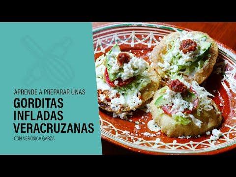 GORDITAS INFLADAS Veracruzanas - ¡Deliciosas!