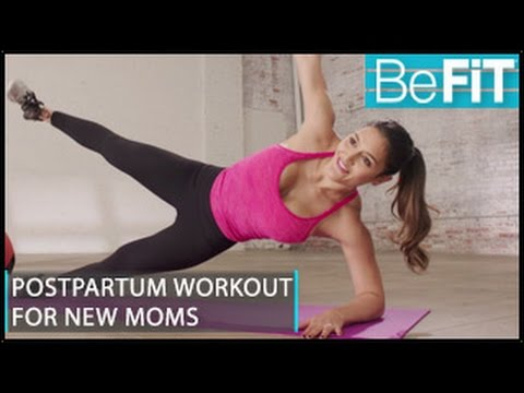 Postpartum Workout for New Moms #1: BeFiT Trainer Open House- Madeline Mosier