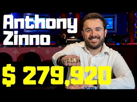 Anthony Zinno wins the $1,500 PLO 8 or Better for $279,920!