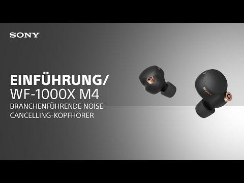 Die neuen kabellosen WF-1000XM4 Noise Cancelling-Kopfhörer von Sony