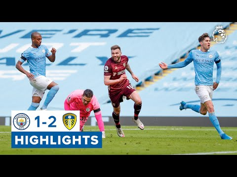Dallas scores late winner for 10-man Leeds!   Man City 1-2 Leeds United   Premier League highlights