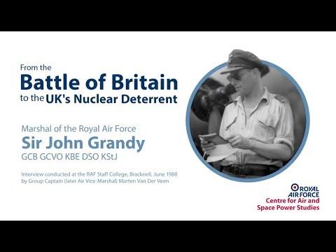 Marshal of the Royal Air Force Sir John Grandy interview