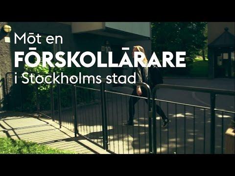 Möt en förskollärare i Stockholms stad