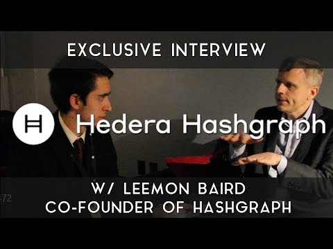 Exclusive Hashgraph Interview | With Leemon Baird
