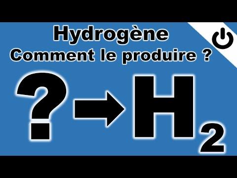 Hydrogène: comment le produire ?
