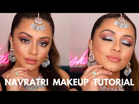 SUPER GLAM NAVRATRI MAKEUP TUTORIAL