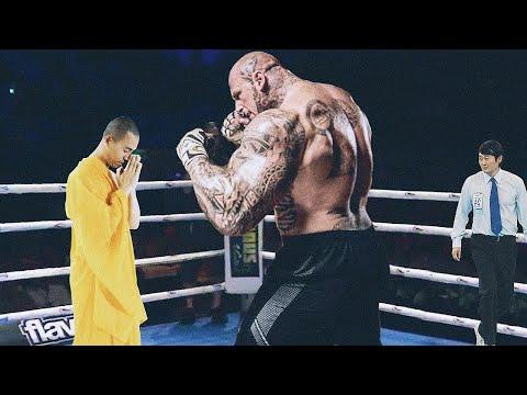 Никто не Может Победить Этого Шаолиньского Монаха, и Вот Почему