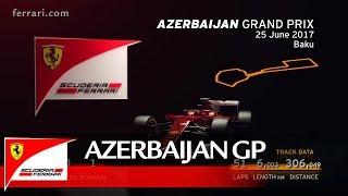 Azerbaijan Grand Prix Preview – Scuderia Ferrari 2017