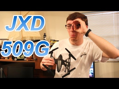 Awesome 5.8 Ghz FPV Drone / Quadcopter - JXD 509G Review - TheRcSaylors - default