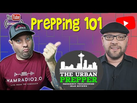 Getting Started in Prepping with The Urban Prepper