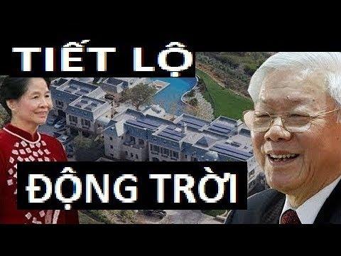 Tiết lộ động trời về khối tài sán khủng của Nguyễn Phú Trọng