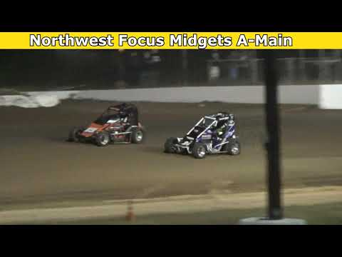 2021 Fred Brownfield Classic, Night 1, Northwest Focus Midgets Series A-Main - dirt track racing video image