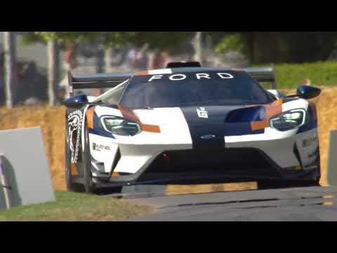 The Ford GT MK II - Winning Supercar Shootout run at Goodwood FOS 2019