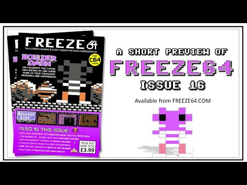 FREEZE64 fanzine issue 16 for the Commodore 64