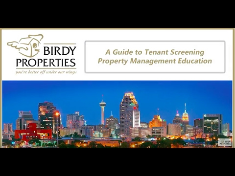 A Guide to Tenant Screening in San Antonio, TX | Property Management Education