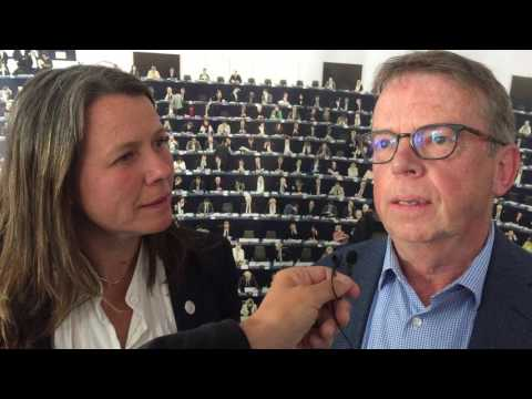 Lars Andersson och Åsa Romson pratar om modernt miljösamarbete