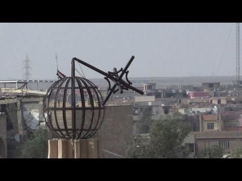 قرقوش بلدة اشباح رغم مرور اشهر على طرد الجهاديين