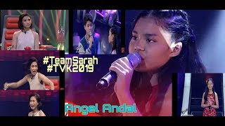 ANGEL ANDAL-THE VOICE KIDS 2019 (journey)