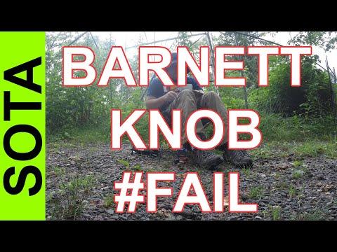 Ham Radio SOTA - #FAIL Barnett Knob W4C/WM-055