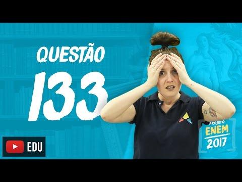Enem 2016: Questão133(CadernoRosa)