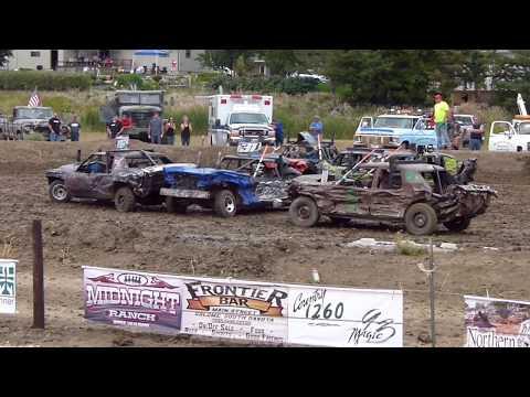 Winner Demolition Derby 2018 Limited Weld Finale!
