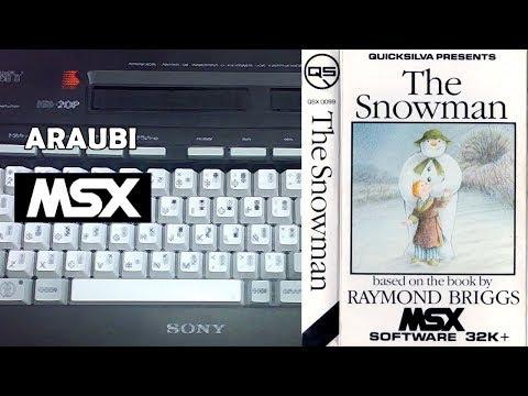 The Snowman (Quicksilva, 1984) MSX [579] Walkthrough Comentado