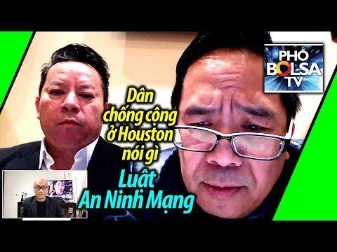 Người Việt chống cộng ở Houston nói gì về luật An Ninh Mạng Việt Nam?