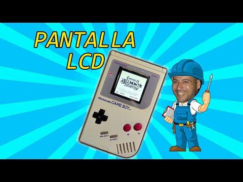 PANTALLA LCD EN GAMEBOY CLASICA