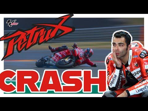 Danilo Petrucci's Qualifying Crash   MotoGP?#GermanGP 2019