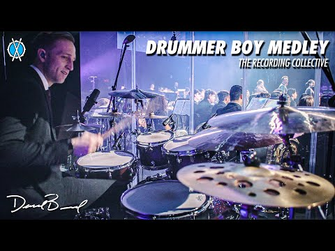 Merry Christmas!!   Drummer Boy Medley Drum Cover // The Recording Collective // Daniel Bernard