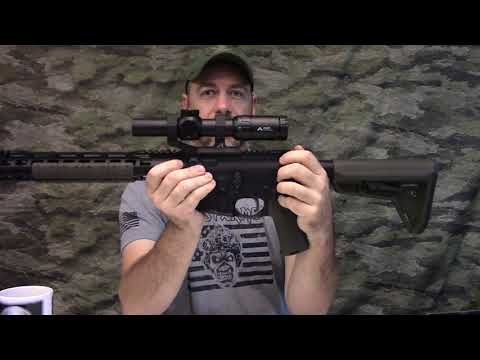 """Palmetto State Armory 14.5"""" CHF FN chrome lined upper build & Primary Arms 1-6x SFP ACSS scope"""