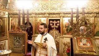 Biserica Sfintii Apostoli - Predica la Duminica a XXXII a dupa Rusalii
