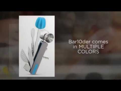 Bar10der 10 in 1 Bartending Tool | Bartending Swiss Army Knife