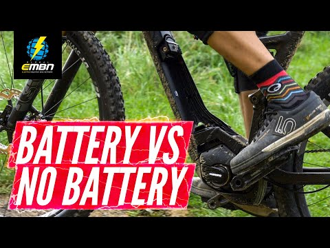 How Does An E-Bike Ride Without The Battery? | Battery Vs No Battery