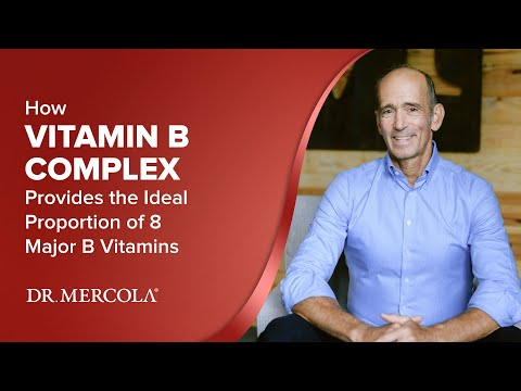How VITAMIN B COMPLEX Provides the Ideal Proportion of 8 Major B Vitamins
