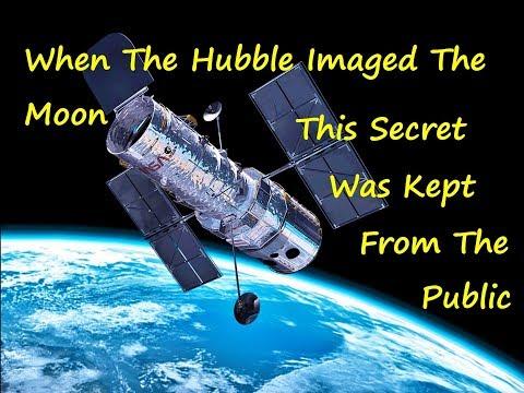 Hubble's Secret Moon Mission