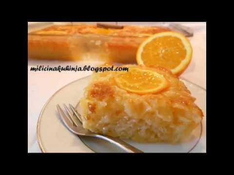 Grcka pita sa narandzama - Portokalopita - Greek pie with oranges